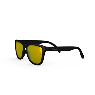 c0a23bc97ff27 goodr RUNNING SUNGLASSES - (Black w  Gold Lens)  Amazon.co.uk  Clothing