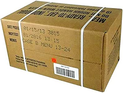 Amazon Com Genuine Military Mres Box B 13 24