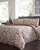 Felicity Amber Duvet Cover Set - King Size by Yorkshire Linen