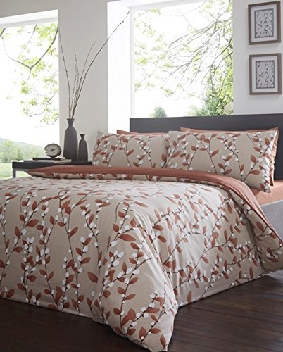 Felicity Amber Duvet Cover Set - King Size by Yorkshire Linen by Yorkshire Linen