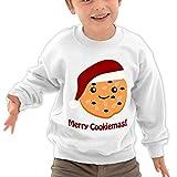 Puppylol Merry Cookiemas Kids Classic Crew-neck Pullover Sweatshirt White
