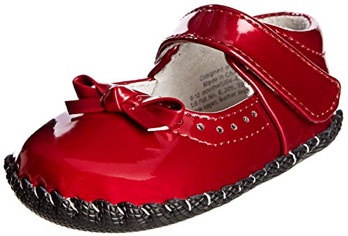 pediped Originals Isabella Mary Jane (Infant),Red Patent,Small (6-12 Months)