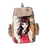 Gracetop Women's Backpack Handbag( Beige, Bd-Pitho-Beige)