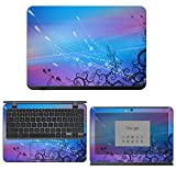 "decalrus - Protective Decal Skin Sticker for Acer ChromeBook 11 N7-C731 / CB311 (11.6"" Screen) case Cover wrap ACchromebookN7_C731-140"