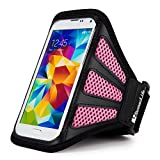 Huawei Nova / Honor 8 / Y5II / Y3II / P9 Running Sports Exercise Workout Hiking Walking Pink Armband (12-19in Axilla girth)