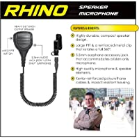 Earphone Connection RHINO Quick Release Shoulder Mic for Vertex VX-537 NYPD
