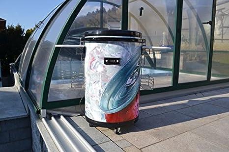 Kleiner Kühlschrank Heineken : Partycooler mobiler party kühlschrank auf rollen zum befüllen für