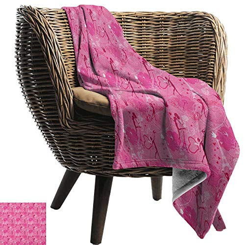 (Sunnyhome Paris,Lightweight Blanket,Flying Elves Eros Love Town Center of Romance Magic City Valentines Day Concept 50