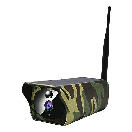 Cámara para animales al aire libre con cámara espía IP66 impermeable 1080p, cámara de vigilancia