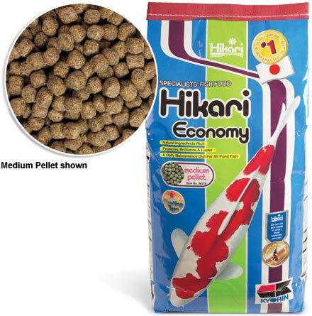 Hikari Economy Staple Koi Food 44 lb Medium Pellet by HIKARI