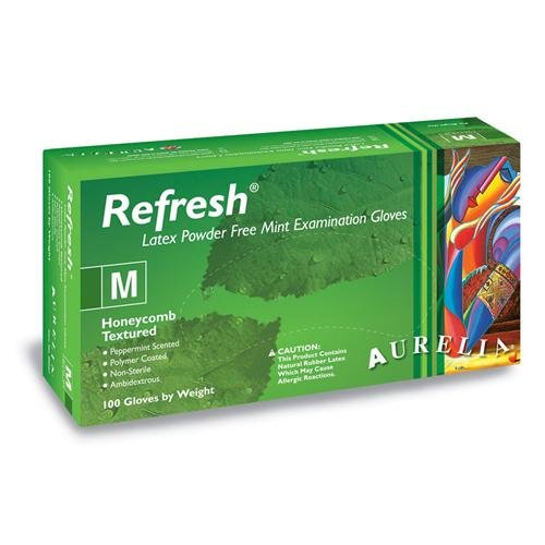 Aurelia Refresh, PepperMint, Latex PF - XS (100)