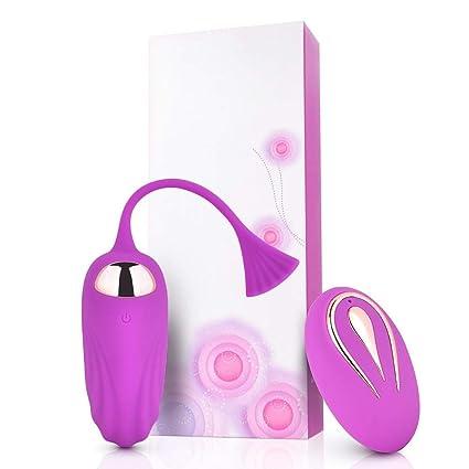 Amazon.com  Silicone Vibrator with Remote Control Wireless Massager ...