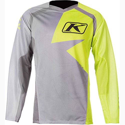 KLIM Mojave Men's Off-Road/Dirt Bike Jersey - Lime Green/Small