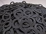 (100) Rubber Washers - 1 1/2'' OD x 1'' ID x 1/16 Inch - Neoprene Rubber Washers - Endeavor Series