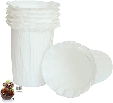 100 canFly Premium Paper Filters for K-Carafe Reusable Coffee Filter