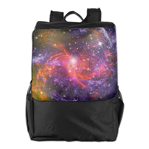 Galaxy Outer Space Outdoor Travel Hiking Camping Daypack Shoulder Packsack Bag School Backpack For Men Women And Teens