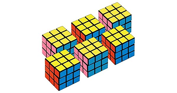 Amazon.com: Amscan Mini Cubos suministro para fiesta cubo de ...