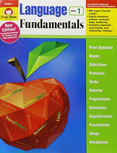 Language Fundamentals: Common Core Edition, Grade 1 by Evan-Moor Educational Publishers (2016-01-01)