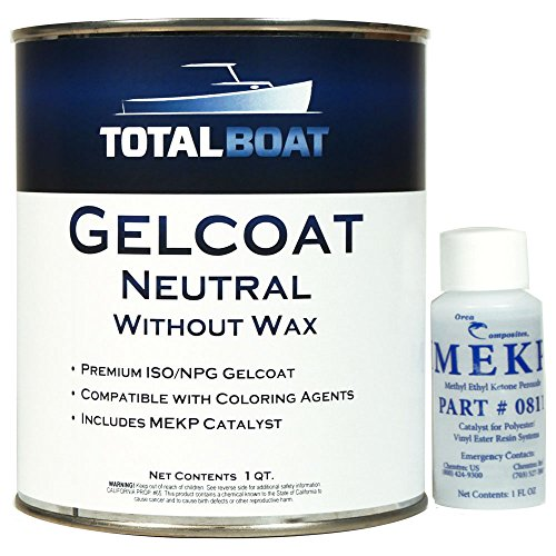 - TotalBoat Gelcoat (Neutral, Quart No Wax)