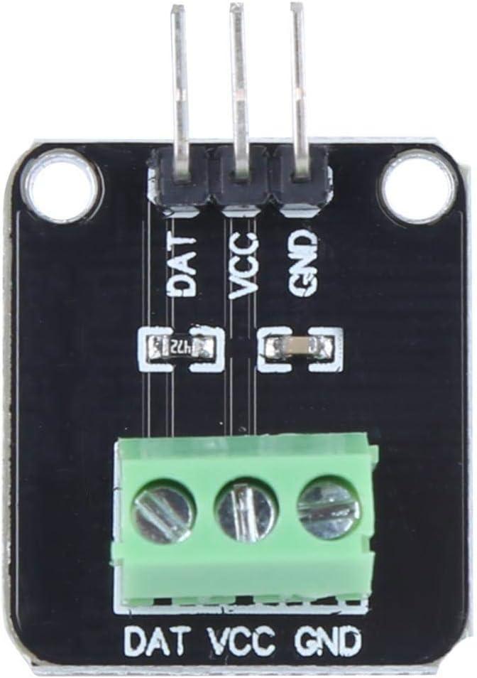 125 ℃ 50 ℃ Digitales DS18B20-Temperatursensormodul-Kit Wasserdichte elektronische Komponenten Bereich