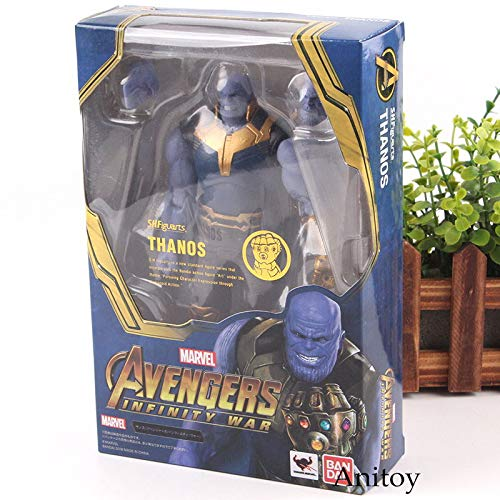 S.H.Figuarts SHF Action Figure Marvel Avengers 3 Infinity War Figures Thanos PVC Collection Model Toys