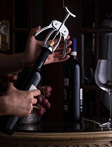 Bellemain Premium Wing Corkscrew Wine Opener Heavy-duty nonstick by Bellemain (Image #2)'