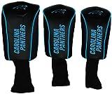 WinCraft NFL Carolina Panthers 3-Pack Mesh Headcovers