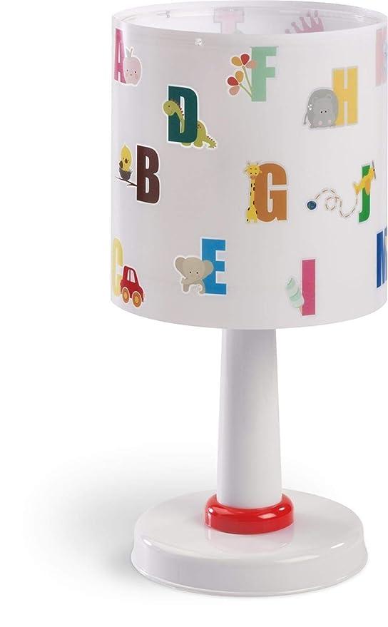Dalber ABC Lampe de Chevet Lettres de l'alphabet