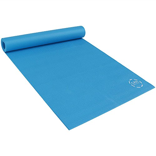 CASL Brands High Density Large Yoga Mat, Exercising and Workout Pad - for Men and Women