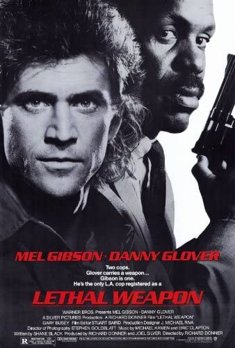 Amazon.com: Lethal Weapon - 1987 - 27 x 40 Movie Poster - Style A: Prints:  Posters & Prints