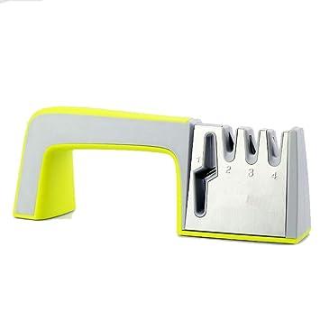 Amazon.com: Afilador de cuchillos, 4 etapas profesional ...
