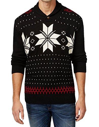 cheap Weatherproof Mens Small Shawl Collar Fair Isle Sweater ...