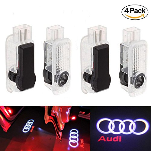 Excellent LED Projector Door Shadow Logo Light Welcome Lamps Courtesy Lights Kit