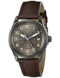 Victorinox Men's 241519 Infantry Analog Display Swiss Automatic Brown Watch