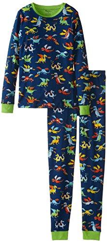 Hatley Little Pajama Overall Dragons