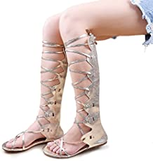 4a6141927b0 Hee Grand Brand Fashion New Summer Gladiator Sandals Woman Flat With ...