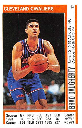 97860c5616cd2 Amazon.com: 1991-92 Panini Stickers Basketball #119 Brad Daugherty ...