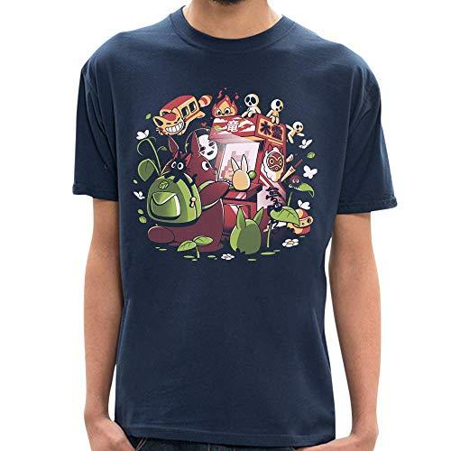 MA - Camiseta Ghibli Games - Masculina - GG