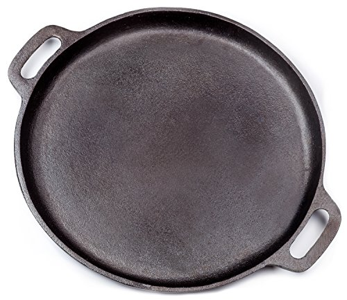 Stone Pizza Pan : Galleon cast iron pizza stone pan inch by
