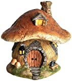 Cheap Top Collection Miniature Fairy Garden and Terrarium Mushroom Fairy House Statue