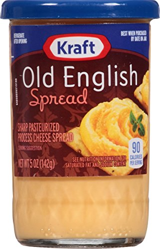 Spread Free Sugar - Kraft Old English Cheese Spread, 5-Ounce (Pack of 6)