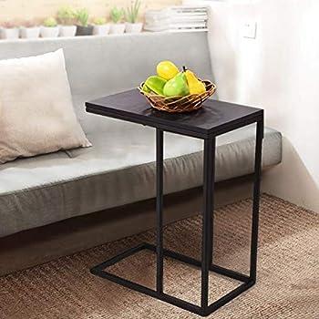 Amazon Com Tangkula Coffee Tray Side Sofa Table Ottoman