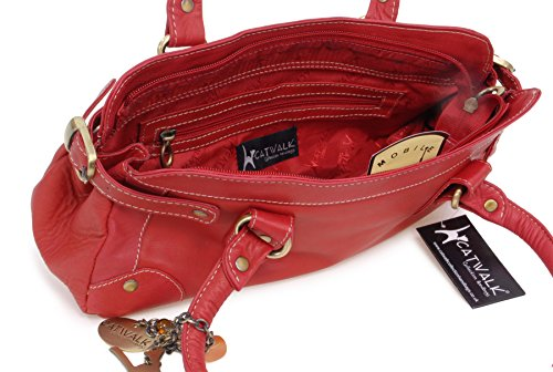 à carnaby rouge en court Catwalk manche cuir Sac Collection TFwP4Eqn