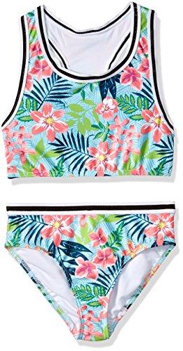 (Jantzen Big Girls Tropicana Vibrant Print Tankini, Tropical FOILIAGE, 10)