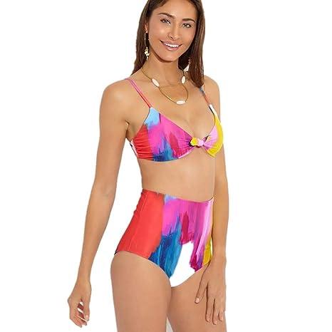 Amazon.com: Gocheaper Women Summer Two Piece Fashion Print ...
