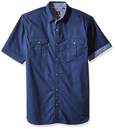 LEE Men's Size Cleff Shirt Plain, Navy, 3X-Large Tall (Bass Pro Drive)
