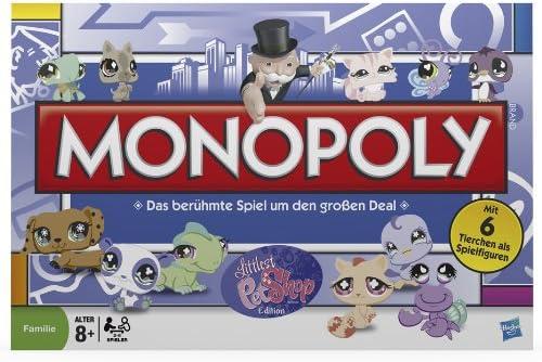 Hasbro 03601100 - Juego de mesa Monopoly (en alemán), diseño de ...