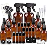 Glass Spray Bottles Kits, BonyTek Empty 12 10 ml