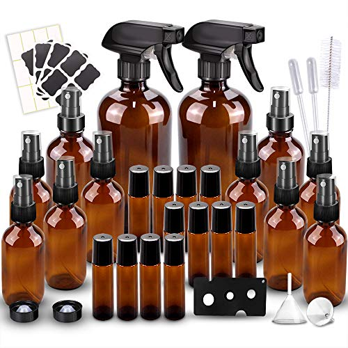 Glass Spray Bottles Kits