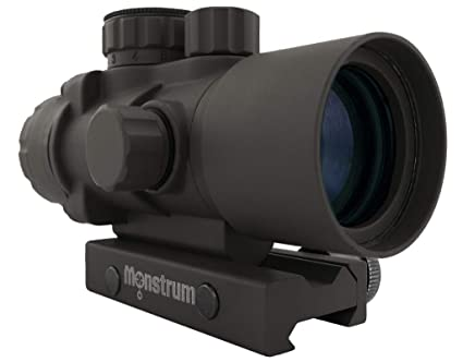 Monstrum Tactical S330P Ultra-Compact 3x Prism Scope (Black)
